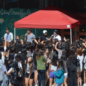 Boy Band Project performs at Mark Keppel