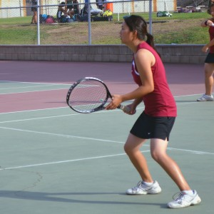 Girls' tennis remains in first place