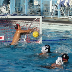 Boys water polo plays first round of CIF