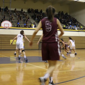 Girls basketball achieves overwhelming victory against Oilers
