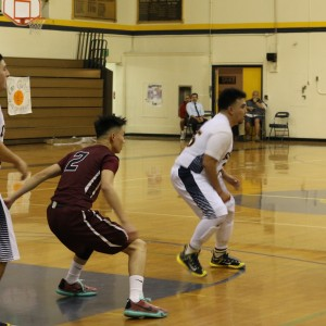 Boys basketball wins against the Montebello Oilers
