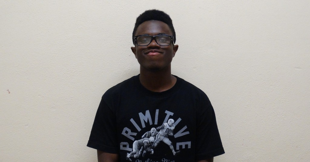Sophomore Maurice Rooks will be playing the role of Seaweed J. Stubbs. THE AZTEC/DARWIN TSE
