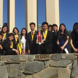 Academic Decathlon team participates in Los Angeles County match