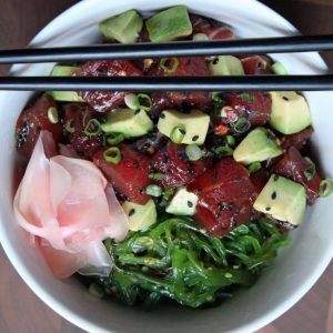 The growing popularity of Hawaiian poke bowls