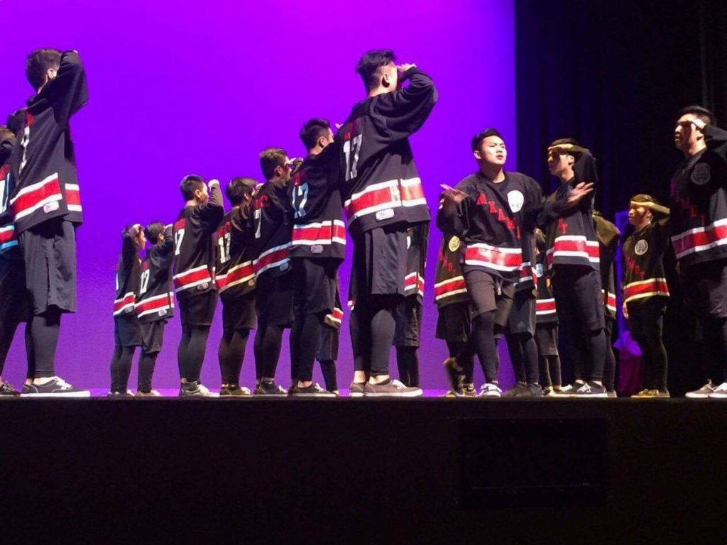 Keppel All Male performs during Dance Off. JAMIE CHAU/THE AZTECS