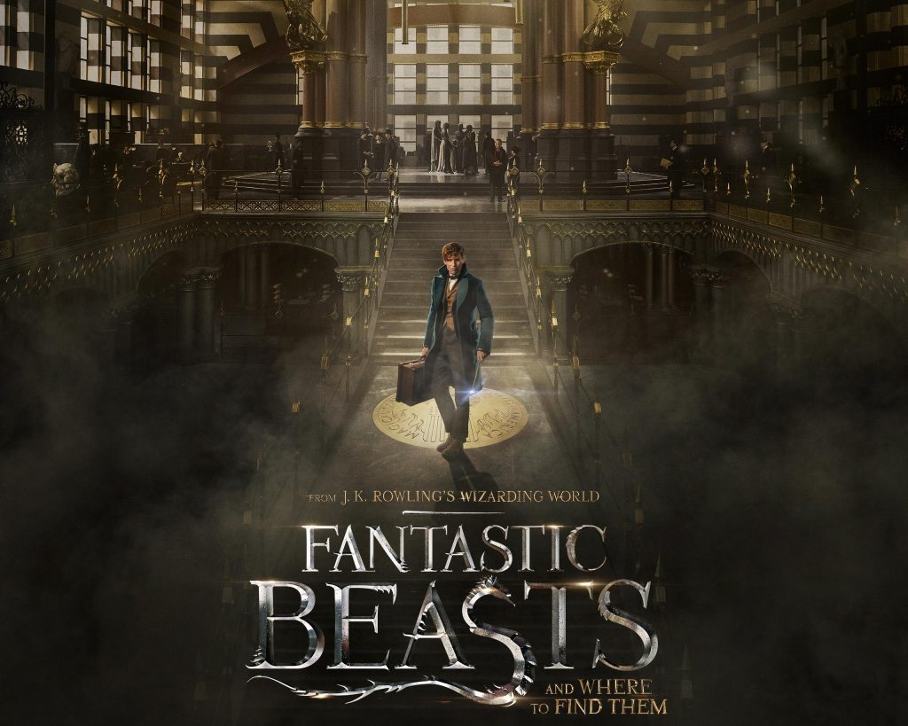 "Official movie poster of ""Fantastic Beasts and Where to Find Them"" COURTESY OF WARNER BROS"