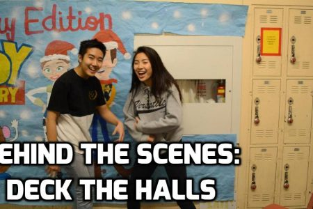 Behind the Scene – Deck the Halls