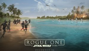 Movie poster of Rogue One: A Star Wars Story. PHOTO COURTESY OF