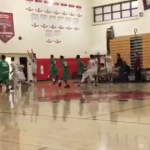 Boys Varsity Basketball pulls last second win with clutch 3-point shot