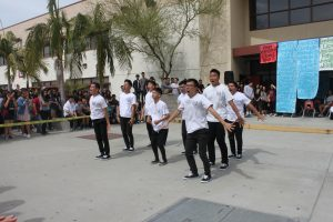 All Male performs at Spring Rally. THE AZTECS/JAMIE CHAU