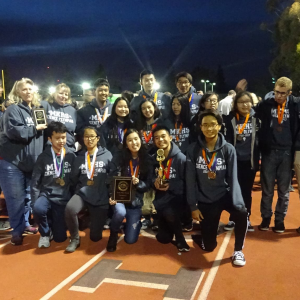 "Keppel attends the ""Olympics of Science"" at Occidental College"