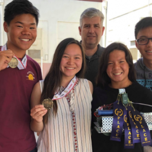 Mark Keppel's Team Technobiotics propel to first place in second annual robotics competition