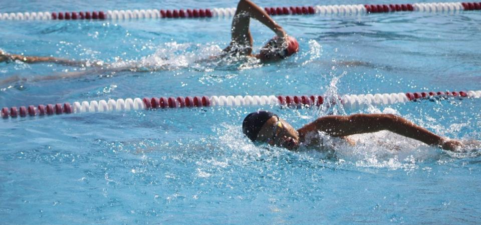 Swim team swept with four-level domination in League match against San Gabriel