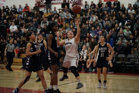 Despite regional final loss, Girls' Basketball's historic season leaves much to be proud of