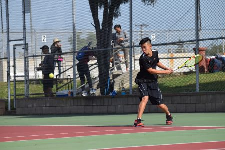 Boys tennis knocked out of CIF by defending champions Laguna Beach
